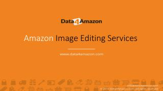 Amazon Image Editing Services