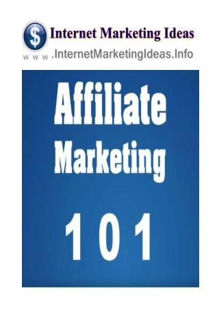 Affiliate Marketing For Dummies - Best Affiliate Marketing Programs Series Part 4