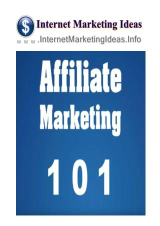 What Is Affiliate Marketing - Best Affiliate Marketing Programs Series Part 1