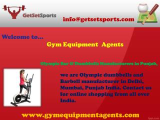 Olympic Bar & Dumbbells Manufacturers in Punjab, India