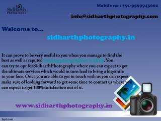 Get experienced wedding photographers in Delhi