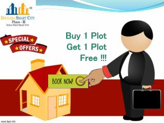 Buy 1 Plot & Get 1 Free- Book Dholera SIR Residential Plots