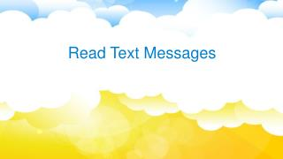 Read Text Messages
