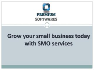 Grow your small business today with SMO services