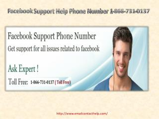Just Dial 1-806-731-0137 For Facebook Tech Support