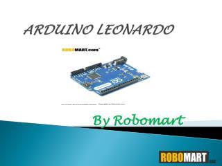 Arduino Leonardo - Robomart