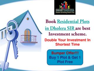 Residential Plot In Dholera SIR