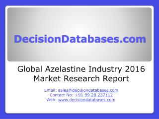 Global Azelastine Market 2016-2021