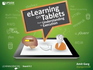 eLearning On Tablets - From Understanding To Execution