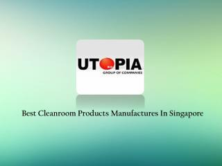 Cleanroom Products Suppliers