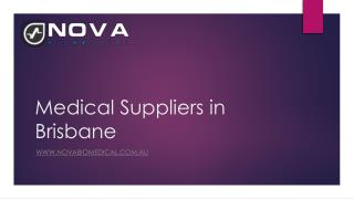 Medical Suppliers in Brisbane