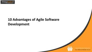 10 advantages of agile software development