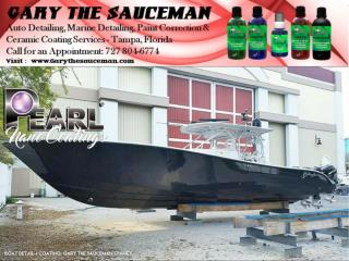 """Gary """"The Sauceman"""" Offer Pearl Products at Tampa,Florida."""