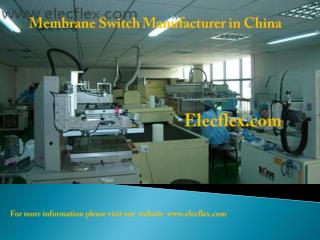 Membrane switch manufacturer in china