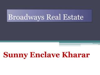 Sunny Enclave Kharar Sector 123, Plots In New Sunny Enclave Mohali