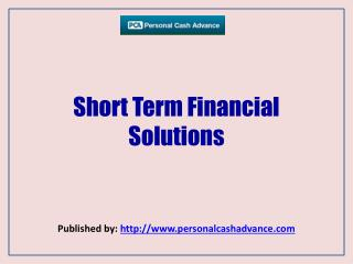 Short Term Financial Solutions