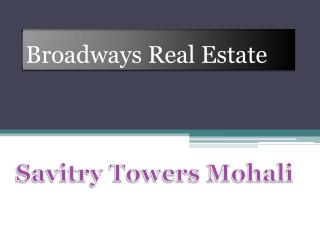 Savitry Towers Mohali, 4BHK Flat at Sector 91, Savitry Towers Mohali
