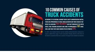 10 common causes of truck accidents