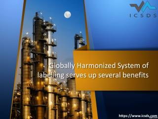 Globally harmonized system of labeling serves up several benefits