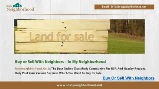 Buy Or Sell with Neighbors