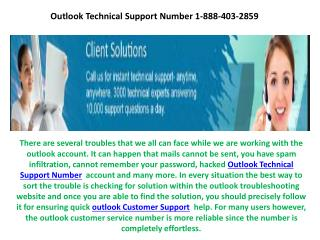 Outlook Technical Support Number 1-888-403-2859