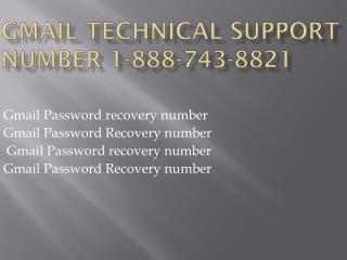 Gmail Helpline Number 1-888-743-8821
