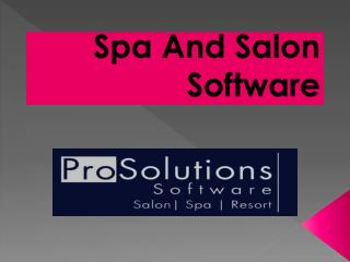 Spa And Salon Software