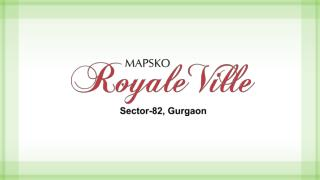 Mapsko Royal Ville-3bhk apartments in gurgaon