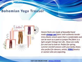 Bohemian Yoga Trouser
