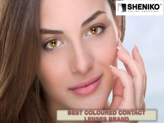 Best Coloured Contact Lenses Brand - Sheniko Beauty Supply Store