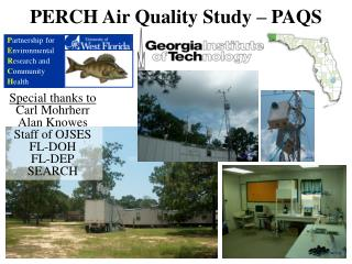 PERCH Air Quality Study   PAQS