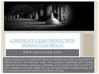 Wedding Videographers Torrance