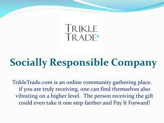 Socially responsible company