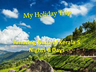Amazing Natural Kerala 5 Nights 6 Days