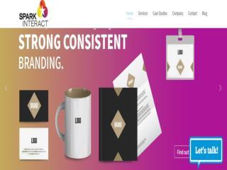 Spark interact  web design company in sydney