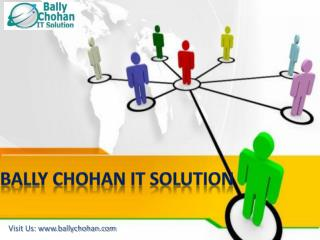 Bally Chohan IT Solution - For Improvement in Business Productivity