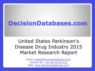United States Parkinson's Disease Drug Market 2016