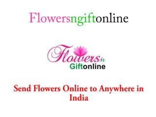 Send Flowers n gift online Delivery Gangtok, Amravati, Silchar