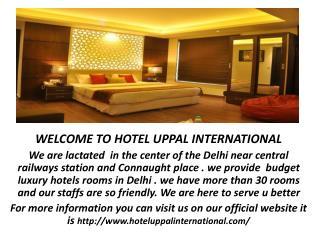 budget hotels in new delhi