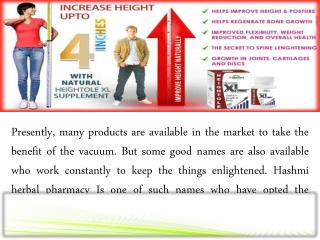 Best Natural Height increase supplement