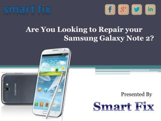 Samsung Galaxy Note 2 Repair Las Vegas