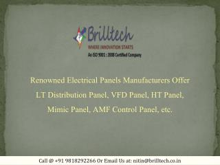 Marshalling Panel Manufacturers