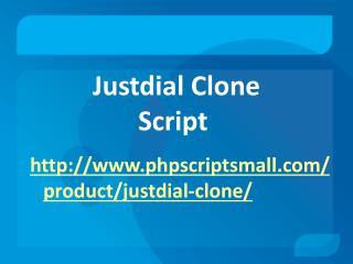 Justdial Script