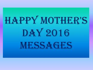 Happy mothers day Whatsapp status