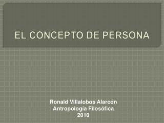Ronald Villalobos Alarc n Antropolog a Filos fica 2010