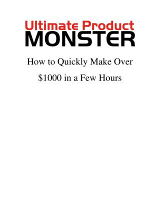 Top 13 ways to make quick money online (I made over $1000 in a few hours!)