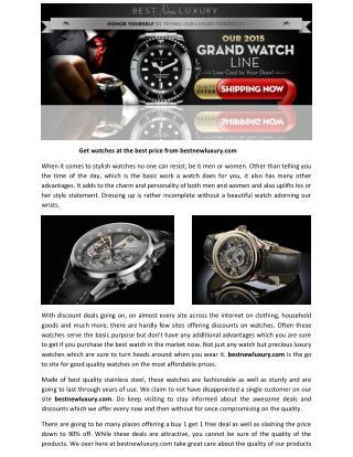 Bestnewluxury   Bestnewluxury.com A Perfect Website to Assert Your Style