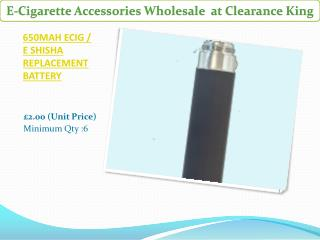 10 Best E-Cigarette Accessories in Wholesale at Clearance King UK