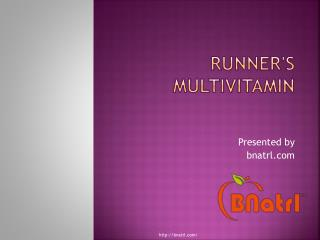 Runners Multivitamin