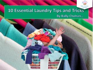 10 Essential Laundry Tips and Tricks - Bally Chohan Laundry